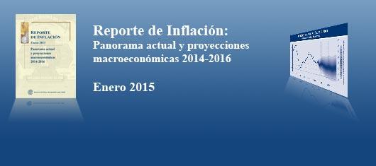 Reporte de Inflación - Enero 2015
