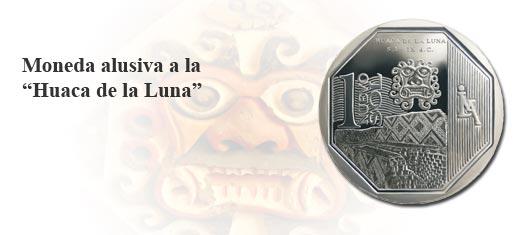 Moneda de Un Nuevo Sol alusiva a la