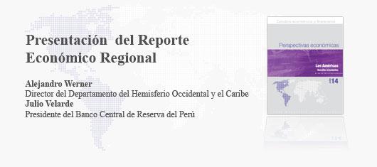 Presentación del Reporte Económico Regional