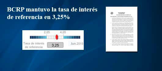 Programa Monetario de Junio 2015